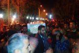 آیین استقبال از نخستین شهید مدافع حرم اندیمشک در اهواز برگزار شد