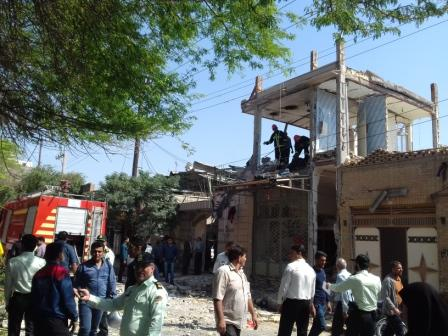 انفجار در یک منزل مسکونی در دزفول خساراتی بر جای گذاشت