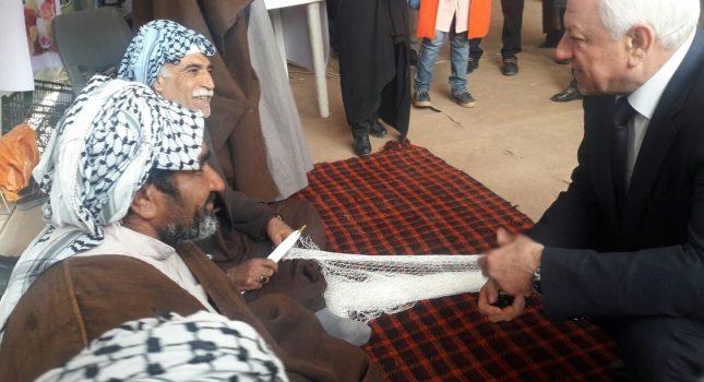 گزارش تصویری ازحضور سفیر عراق در نمایشگاه صنایع دستی شادگان