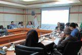 سومین جلسه تخصصی کارگروه قوانین و مقررات ذیحسابان در اداره کل امور اقتصادی و دارایی خوزستان برگزار شد