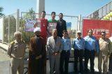 برای حضور در عرصه های ورزشی، مدیون تربیت بدنی پشتیبانی نیروی دریایی تهران هستم