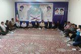 جلسه گرامیداشت برپایی اولین نماز جمعه، با حضور مسئولین در محل ستاد نماز جمعه شهرستان باغملک برگزار گردید.