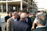 استاندار خوزستان از پروژه های عمرانی و درمانی آغاجاری بازدید کرد