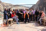 شرکت توسعه منابع آب و نیروی ایران تور دو روزه بازدید خبرنگاران خوزستانی از طرح های راه های جایگزین سد کارون سه و چهار را برگزار کرد