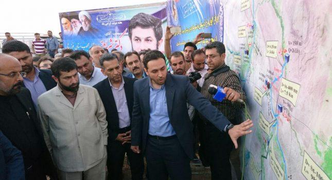 ۹۳۰ هزار نفر از مناطق جنوب شرق خوزستان از نعمت آب برخوردار می شوند