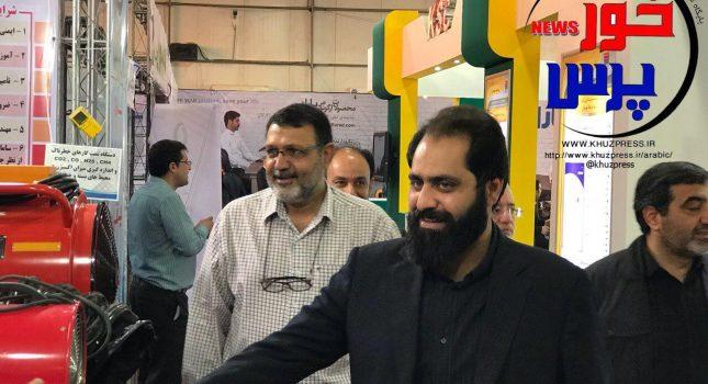 گزارش تصویری بازدید دکتر حقیقی پور مدیر عامل آبفا خوزستان از نمایشگاه بین المللی خوزستان و حضور در غرفه آبفا خوزستان