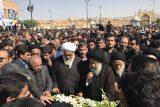 گزارش تصویری مراسم تشییع پیکر دکتر محمد علی شیخ شوشتری