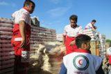 سومین محموله کمکهای انسان دوستانه شهروندان اندیمشک برای زلزله زدگان کرمانشاه ارسال شد
