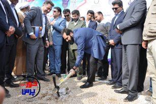 گزارش تصویری کلنگ زنی پروژه های شرکت آبفا خوزستان در شهرهای ماهشهر و بندر امام خمینی(ره)