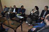دیدار مدیرعامل آبفا خوزستان با نماینده ولی فقیه در استان