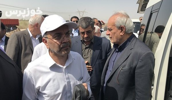 گزارش تصویری حضور معاون وزیر نیرو در شهرهای آبادان و خرمشهر