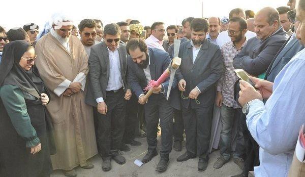 آغاز پروژه احداث تصفیه خانه و تاسیسات آبرسانی شهر چوئبده آبادان