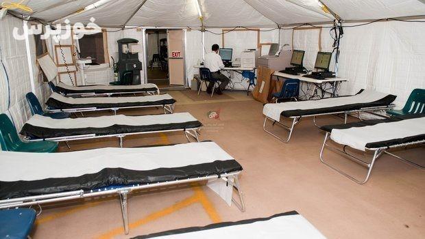 خدمات بهداشتی و درمانی به ۵۰۰ زائر اربعین در اندیمشک ارائه شد