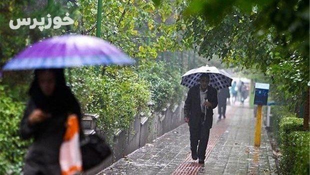 سامانه بارشی از امروز وارد خوزستان شد
