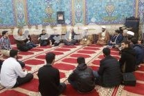 دیدار مردمی مهندس دوُر  شهردار منطقه چهار اهواز با ساکنان منطقه گلستان در مسجد حضرت ولیعصر(عج)
