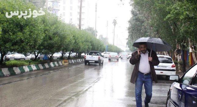 خوزستان هفته آینده متاثر از ۲ سامانه بارشی است