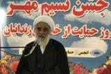 گزارش تصویری جشن نسیم مهر برای حمایت از خانواده های زندانیان شوشتر