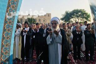 گزارش تصویری مراسم باشکوه نمازه عید سعید فطر در شهر شوشتر