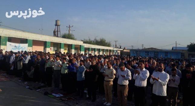 برگزاری نماز با شکوه عید فطر در لالی