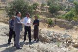 بازدید دادستان و رئیس منابع طبیعی و آبخیزداری شهرستان لالی از عرصه های جنگلی باباروزبهان