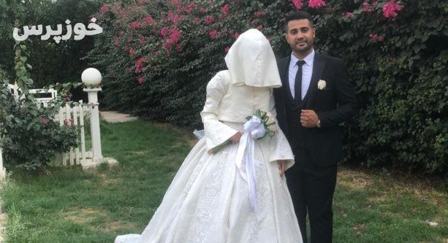 زوج مهرورز اندیمشکی بخشی از هزینه جشن ازدواج خود را به اقشار آسیبپذیر از کرونا اهدا کردند
