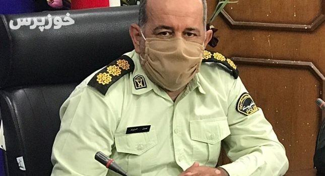 دو سارق کابل و سیم برق در شوشتر دستگیر شد
