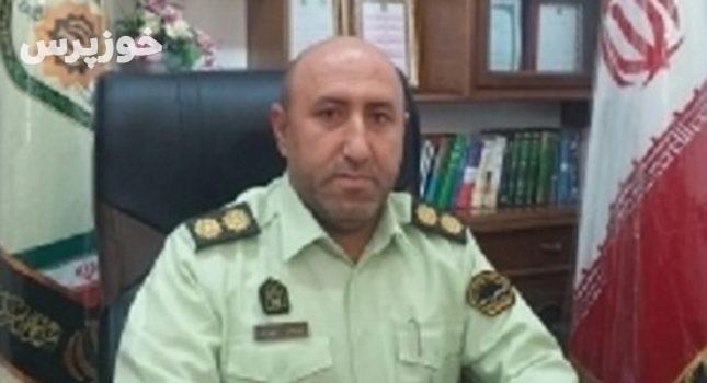 دستبند پلیس بر دستان سارقان حرفهای احشام