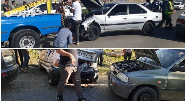 وقوع ۳ تصادف در جادههای ایذه ۱۱ مصدوم بر جای گذاشت