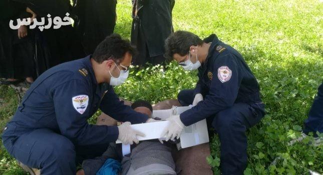سقوط مرد ۵۶ ساله از کوه در شهرستان ایذه