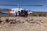 روزهای پرکار اورژانس هوایی در ایذه/انتقال سه بیمار با بالگرد