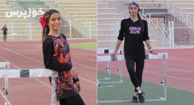 دختران ایذهای در مسابقات دوومیدانی جوانان کشور درخشیدند