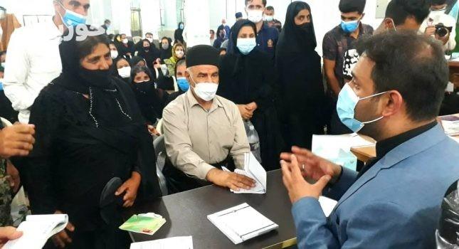 گزارش تصویری خوزپرس از حضور دکتر رضا جباری در مناطق محروم خوزستان